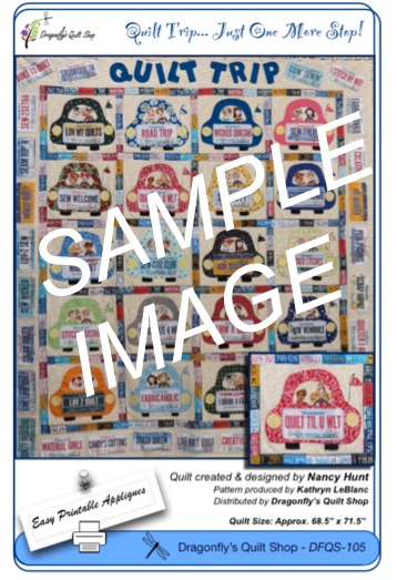 Quilt Trip Pattern & Fabric Kit