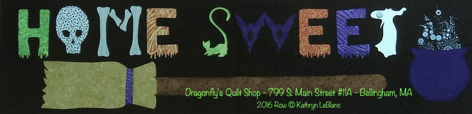 Row By Row™ - 2016 - Halloween Shipped