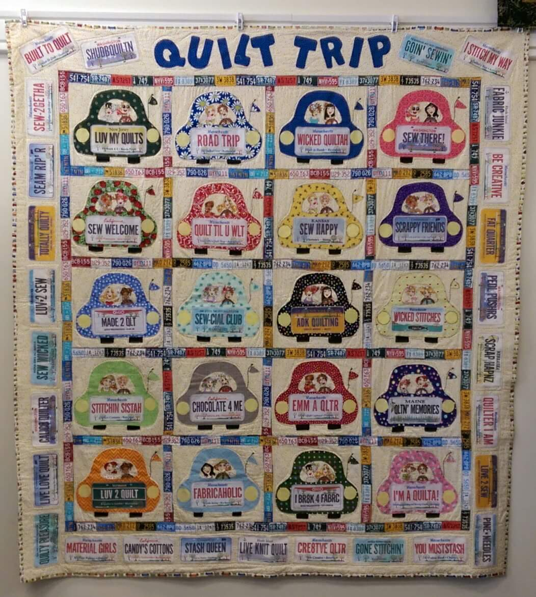 Quilt Trip Pattern (includes S&H)