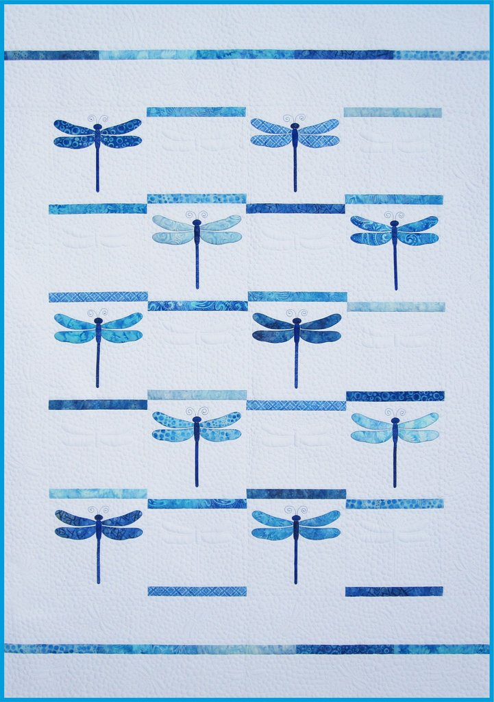 Dragonfly Pattern by Amy Bradley (**Printed Pattern Shipped**)