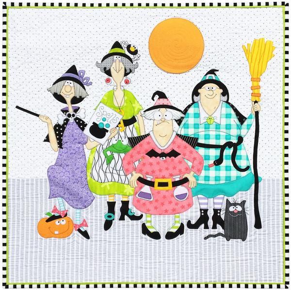 Amy Bradley 4 Witches Pattern