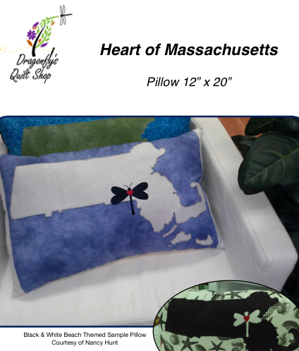 Heart of MA Pillow - Download only