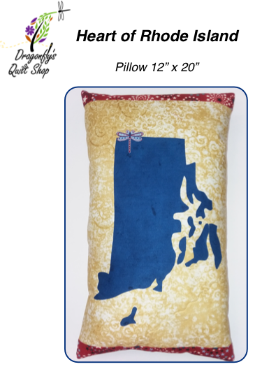 Heart of RI Pillow - Download only