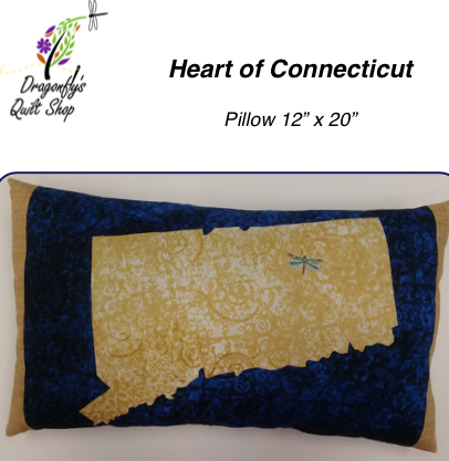 Heart of CT Pillow - Download only