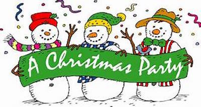 Christmas Party December 14th 6:30-9 pm