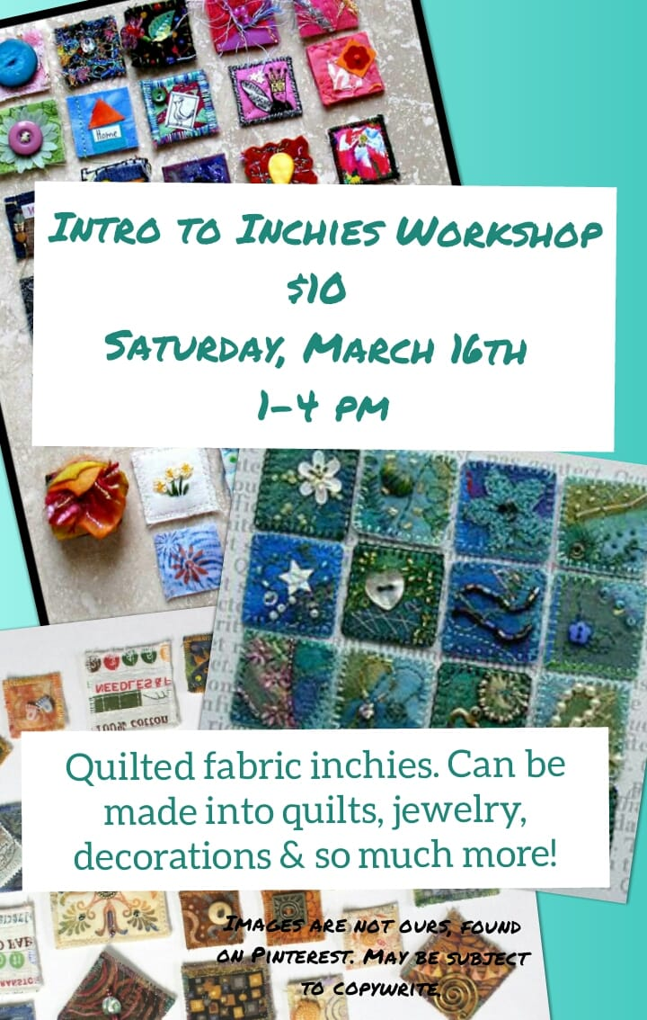 Intro to inchies workshop