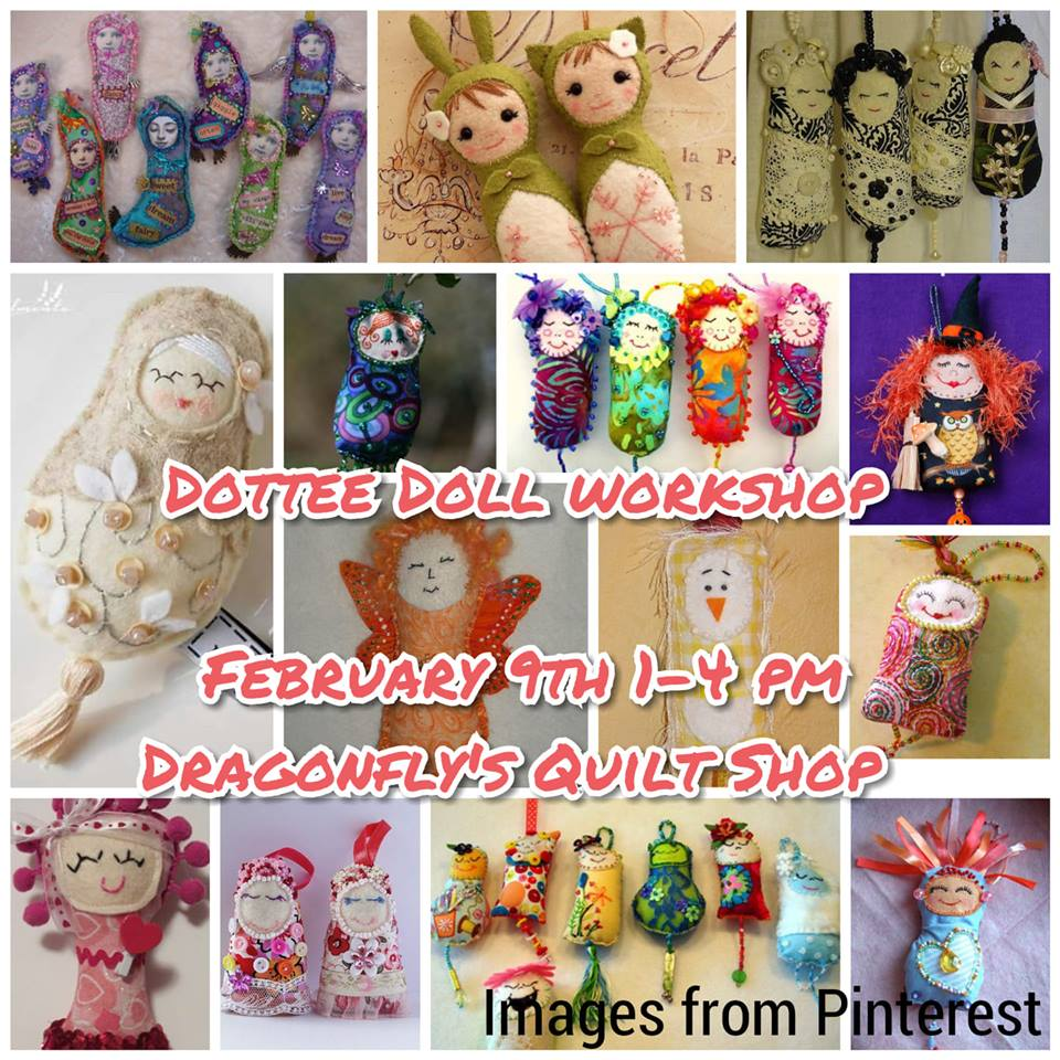 Dottee Doll workshop 2/9/19