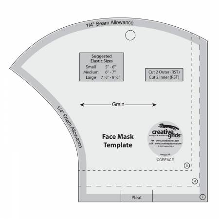 Creative Grids Mask Template Ruler