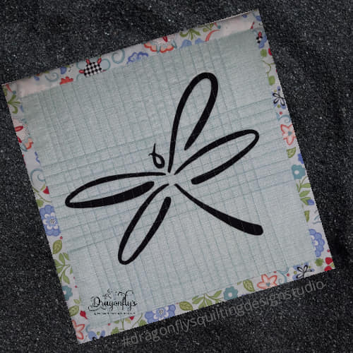 Exclusive dragonfly applique 12