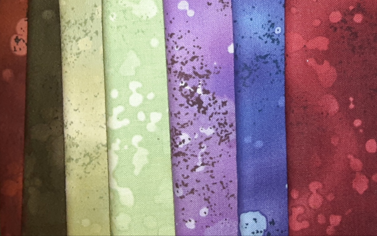 7 pc Fossil Fern  Fat Quarter Bundle (Benartex)