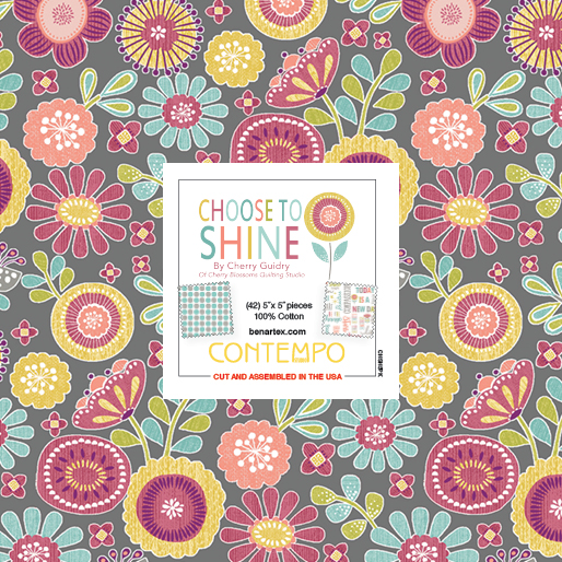 5 inch precut pack - Choose to Shine