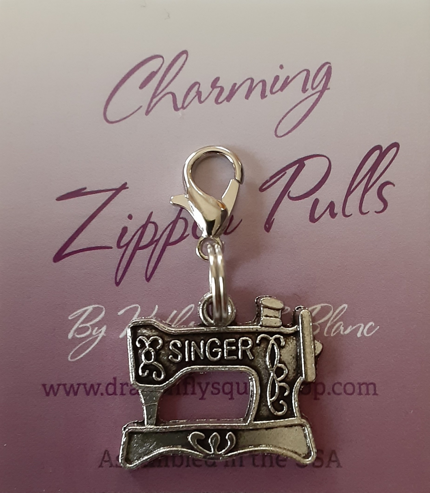 Sewing Machine zipper pull