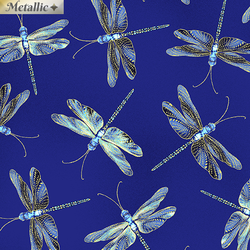 Dragonfly Serenade Moonlit dragonflies Royal