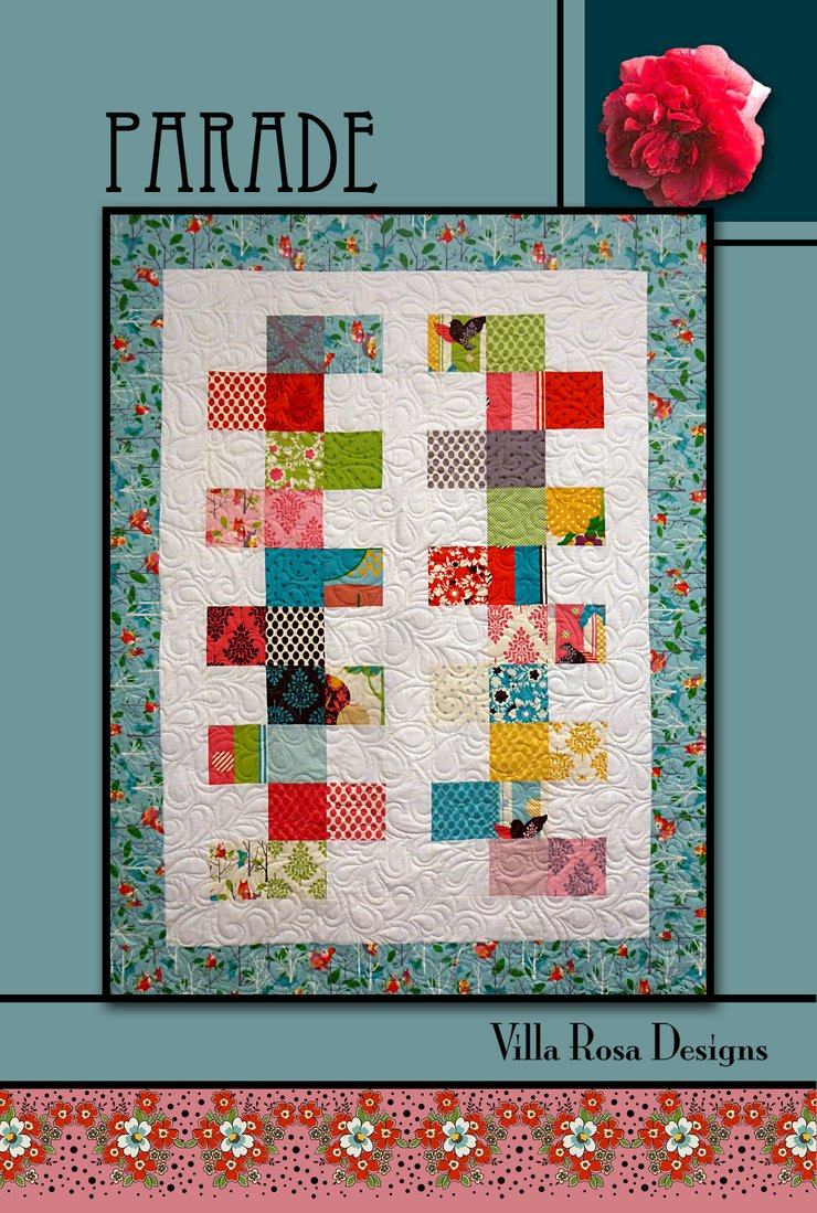 Parade Pattern Kit w/Home Grown fabrics