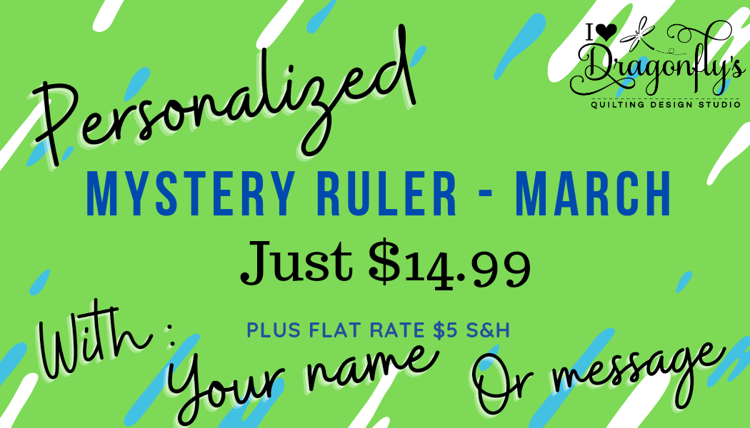 Mystery Ruler March (personalized)
