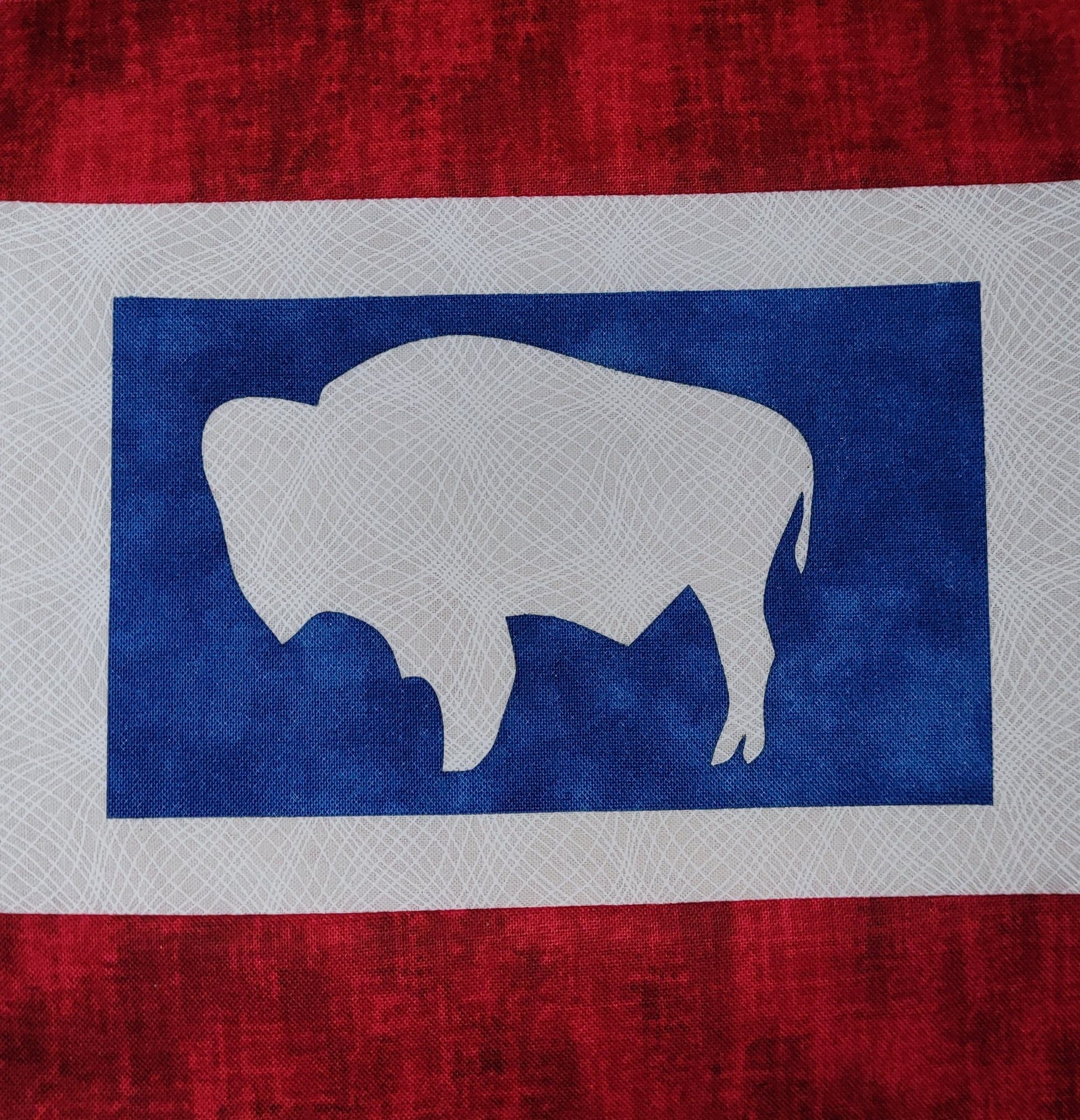 State of Wyoming Appliqué - FREE SHIPPING!!