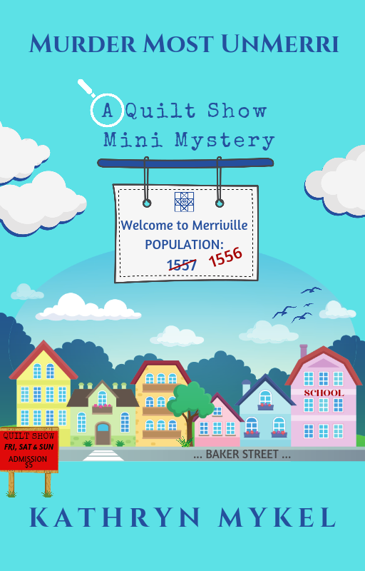 Murder Most UnMerri - A Quilting Cozy Mystery PDF Book - Light Short Story